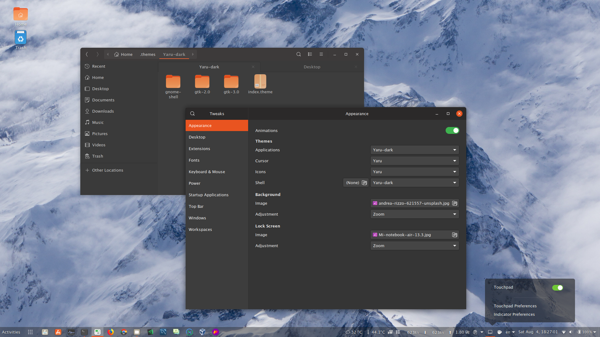 GTK Theme – Oopsbox